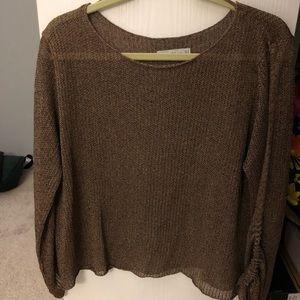 Zara Brown Light Sweater